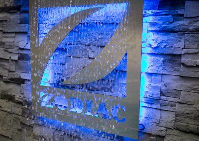 Zodiac water fountain